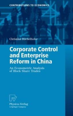 Büchelhofer, Christian - Corporate Control and Enterprise Reform in China, ebook
