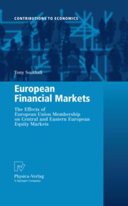 Southall, Tony F. - European Financial Markets, e-bok