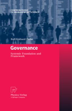 Türke, Ralf-Eckhard - Governance, ebook