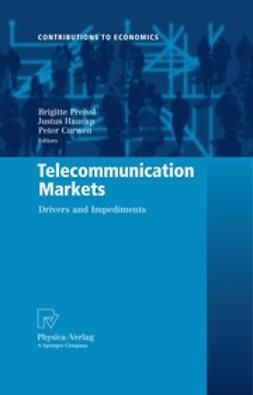 Curwen, Peter - Telecommunication Markets, ebook