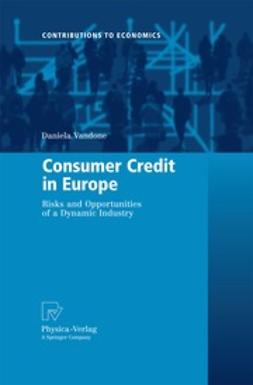 Vandone, Daniela - Consumer Credit in Europe, ebook