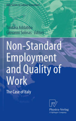 Addabbo, Tindara - Non-Standard Employment and Quality of Work, ebook