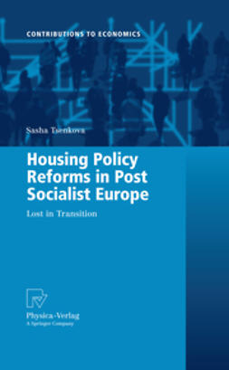 Tsenkova, Sasha - Housing Policy Reforms in Post Socialist Europe, ebook