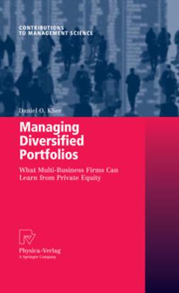 Klier, Daniel O. - Managing Diversified Portfolios, ebook
