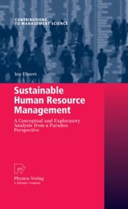Ehnert, Ina - Sustainable Human Resource Management, ebook