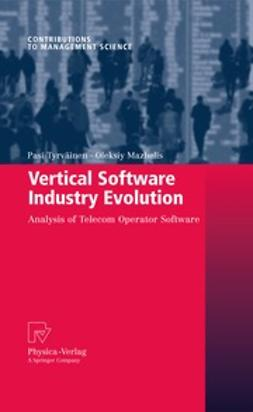Tyrväinen, Pasi - Vertical Software Industry Evolution, ebook
