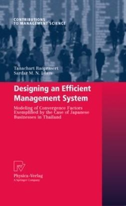 Raoprasert, Tanachart - Designing an Efficient Management System, e-kirja