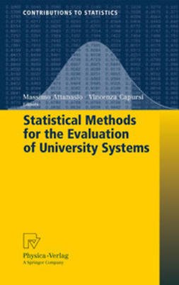 Attanasio, Massimo - Statistical Methods for the Evaluation of University Systems, ebook
