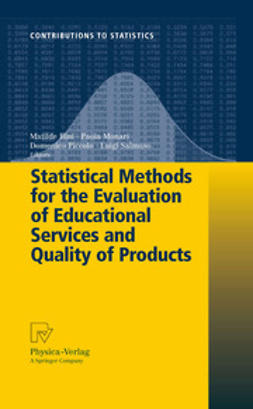 Monari, Paola - Statistical Methods for the Evaluation of Educational Services and Quality of Products, ebook