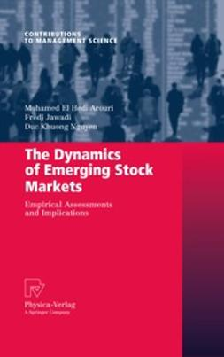 Arouri, Mohamed El Hedi - The Dynamics of Emerging Stock Markets, e-bok