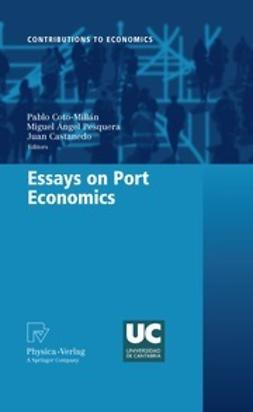 Coto-Millán, Pablo - Essays on Port Economics, ebook
