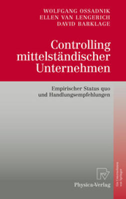Ossadnik, Wolfgang - Controlling mittelständischer Unternehmen, ebook