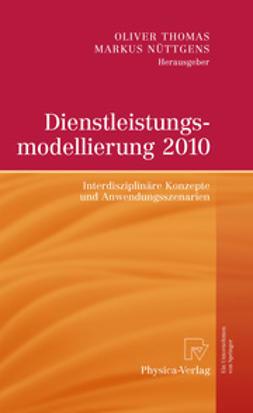 Thomas, Oliver - Dienstleistungsmodellierung 2010, ebook