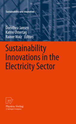 Jansen, Dorothea - Sustainability Innovations in the Electricity Sector, ebook