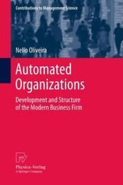 Oliveira, Nelio - Automated Organizations, ebook