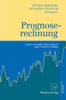 Mertens, Peter - Prognoserechnung, ebook