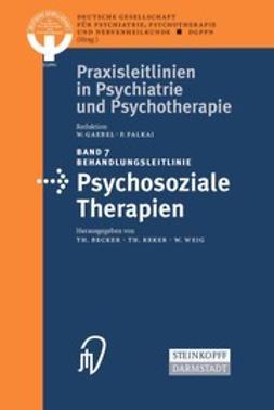 - Behandlungsleitlinie Psychosoziale Therapien, ebook