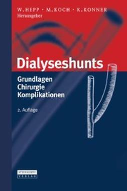 Hepp, Wolfgang - Dialyseshunts, ebook