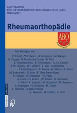 - Rheumaorthopädie, ebook