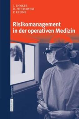 Ennker, Jürgen - Risikomanagement in der operativen Medizin, e-bok