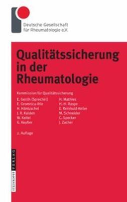 - Qualitätssicherung in der Rheumatologie, ebook