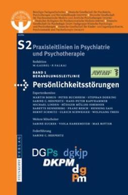 Gaebel, W. - Behandlungsleitlinie Persönlichkeitsstörungen, ebook
