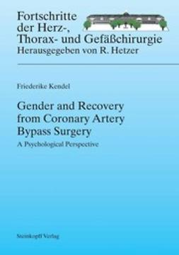 Kendel, Friederike - Gender and Recovery from Coronary Artery Bypass Surgery, e-kirja