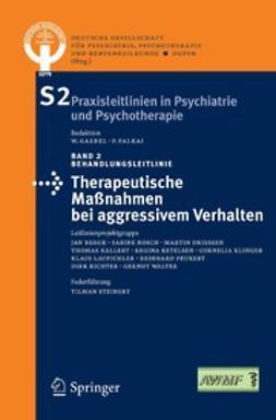 - Therapeutische Maßnahmen bei aggressivem Verhalten in der Psychiatrie und Psychotherapie, ebook