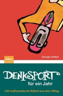 Grätzer, George - Denksport für ein Jahr, ebook