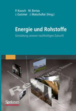 Kausch, Peter - Energie und Rohstoffe, ebook