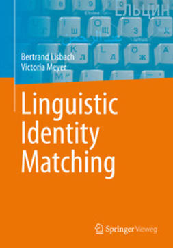 Lisbach, Bertrand - Linguistic Identity Matching, ebook