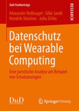 Roßnagel, Alexander - Datenschutz bei Wearable Computing, ebook