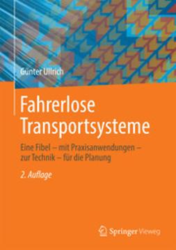 Ullrich, Günter - Fahrerlose Transportsysteme, ebook