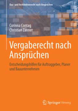 Contag, Corinna - Vergaberecht nach Ansprüchen, ebook