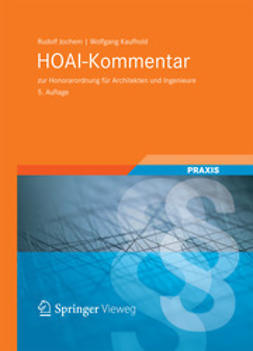 Jochem, Rudolf - HOAI-Kommentar, ebook