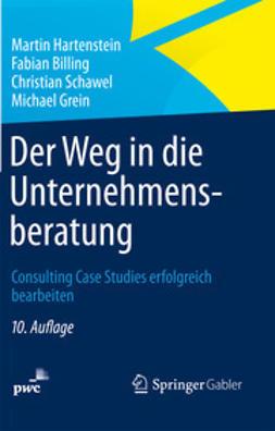 Hartenstein, Martin - Der Weg in die Unternehmensberatung, ebook