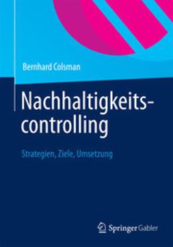 Colsman, Bernhard - Nachhaltigkeitscontrolling, ebook