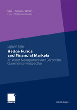 Holler, Julian - Hedge Funds and Financial Markets, e-bok