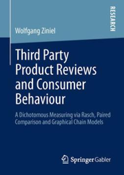 Ziniel, Wolfgang - Third Party Product Reviews and Consumer Behaviour, e-kirja