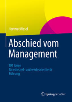Biesel, Hartmut - Abschied vom Management, ebook
