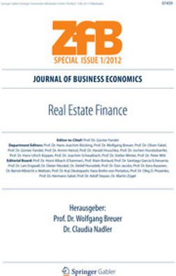 Breuer, Wolfgang - Real Estate Finance, ebook