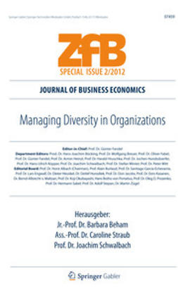 Beham, Barbara - Managing Diversity in Organizations, ebook