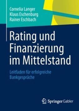 Langer, Cornelia - Rating und Finanzierung im Mittelstand, ebook