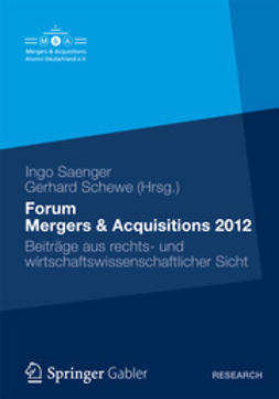 Saenger, Ingo - Forum Mergers & Acquisitions 2012, ebook