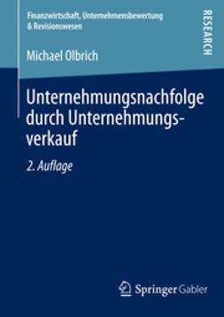 Olbrich, Michael - Unternehmungsnachfolge durch Unternehmungsverkauf, ebook