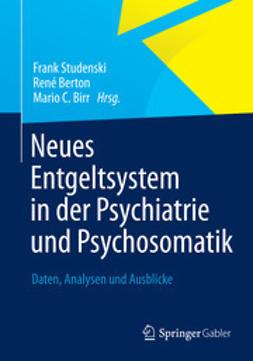 Studenski, Frank - Neues Entgeltsystem in der Psychiatrie und Psychosomatik, ebook