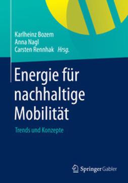 Bozem, Karlheinz - Energie für nachhaltige Mobilität, ebook