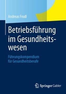 Frodl, Andreas - Betriebsführung im Gesundheitswesen, ebook