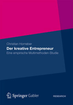 Horneber, Christian - Der kreative Entrepreneur, ebook