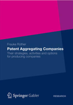 Rüther, Frauke - Patent Aggregating Companies, ebook